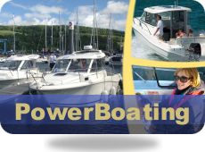 rya power boat courses scotland